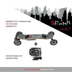 Electric Skateboard. MetroSk8 Explorer 4.4 HP . Off Road . 2