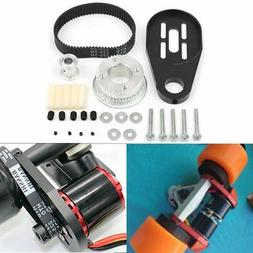Electric Skateboard Kit Parts Pulleys and Motor Mount DIY Fo