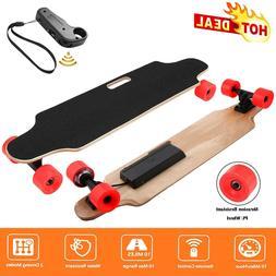 Electric Skateboard Longboard 12MPH 250W Dual Motor Remote C