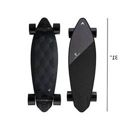 "Maxfind Electric Skateboard Longboard 31"" 23 MPH 16.2 Miles"