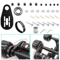 Electric Skateboard Kit Pulleys And Motor + Bracket + Belt f