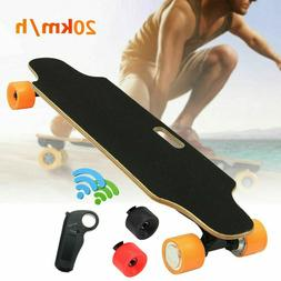 Ancheer Electric Skateboard Longboard Long Board Remote Cont