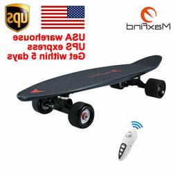 Maxfind Electric Skateboard Longboard Mini Scooter Plate Wir