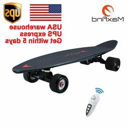 electric skateboard longboard mini scooter plate wireless