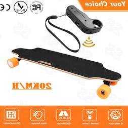 Electric Skateboard Longboard Remote Control & Charger Black