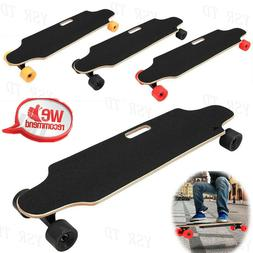 Electric Skateboard Longboard Scooter 4 Wheels 250W Wireless