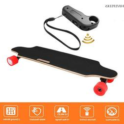 Electric Skateboard Longboard Scooter 4 Wheels With Wireless