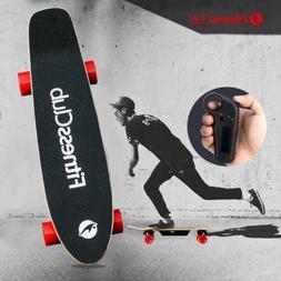 Electric Skateboard Longboard Scooter 4 Wheels With Wireless