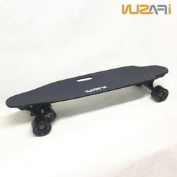 iFasun Electric Skateboard Longboard w/ Remote, 21.7MPH 680W