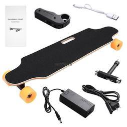 Electric Skateboard Longboard W/Remote Controller Maple Wood