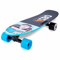 Electric Skateboard Longboard with Remote Control | 400W