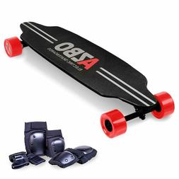 electric skateboard longboard with remote control by