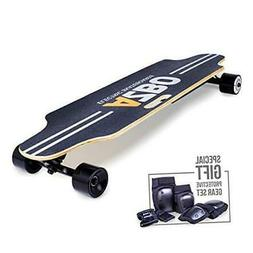 Electric Skateboard Longboard with Remote Control - Gift Pro