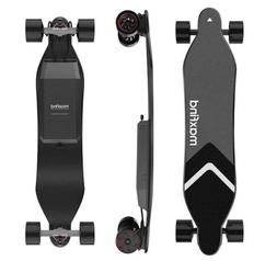 Electric Skateboard Max4 Dual Motor 46.5miles 25mph 3 Modes