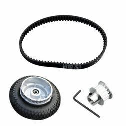 Electric Skateboard Parts Gear Motor Truck Wheels Belt Kit 2