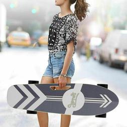 CAROMA Electric Skateboard Power Motor Cruiser Maple Deck Wi