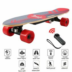 ANCHEER Electric Skateboard Power Motor Cruiser Maple Long-B
