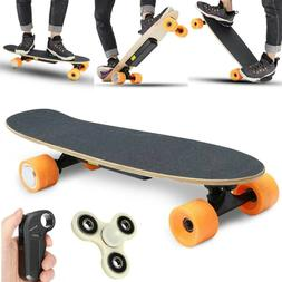 Electric Skateboard Remote Control & Charger | Light and Por