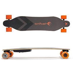 "Maxfind Electric Skateboard Single Hub-Motor Longboard 38"" 1"