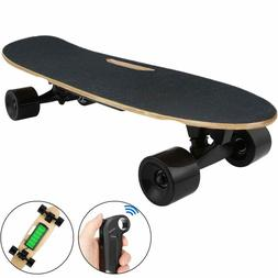 Electric Skateboard w/ Remote Control for Adults 7 Layers Ma
