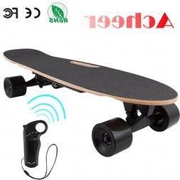 ANCHEER Electric Skateboard Wireless Remote Control 350W Dua