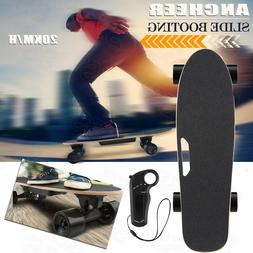 ANCHEER Electric Skateboard Longboard Remote Control & Charg