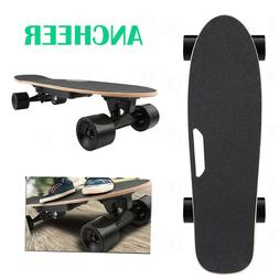 ANCHEER Electric Skateboard Wireless Remote Control Dual Mot