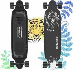 Electric Skateboard with Remote Control, 400W Brushless Moto
