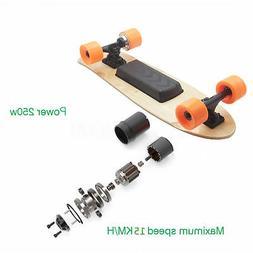 Electric Skateboard With Wireless Remote Control booster boa