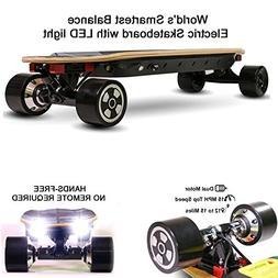 NEJA Electric Skateboard, 32 Inch Electric Longboard   15MPH