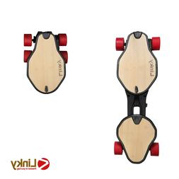 """Linky Foldable Electric Longboard 32"""" Electric Skateboard wi"""