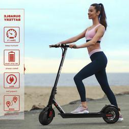 "350W 8.5"" Foldable 2 Wheels Electric Scooter Riding Kick E-s"