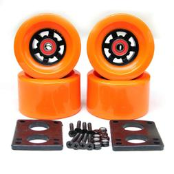 Free Shipping 90*52mm Longboard <font><b>Wheels</b></font> <
