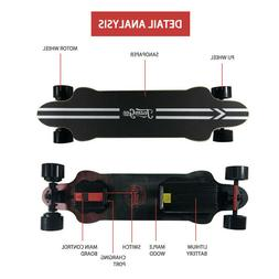 Teamgee H20 37.5 inch Electric Skateboard 25 MPH Speed 480W