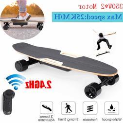 Stunning Electric Skateboard Longboard Double Motor Power Wi