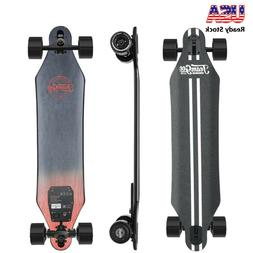 """Teamgee H5 37"""" Blade Electric Skateboard with Drop Through D"""