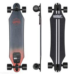 "Teamgee H5 37"" Electric Skateboard, 22MPH Top Speed, 760W Du"
