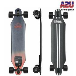 "Teamgee H5 37"" Electric Skateboard 760W Dual Motor Longboard"