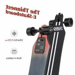 "Teamgee H5 37"" The Thinnest E-skateboard,22Mph Top Speed,760"