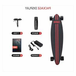 electric skateboard dual motor maple longboard