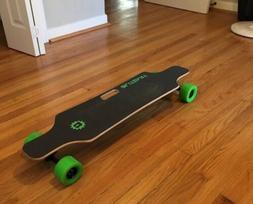 huracane electric motor longboard 38 electric skateboard