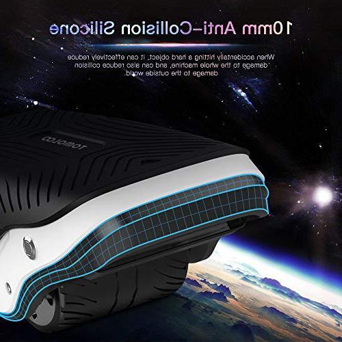 TOMOLOO in 1 Spacewalker S1 Roller Skate LED Lights,250W Self Balancing Kids Adults, Wheel Skating,