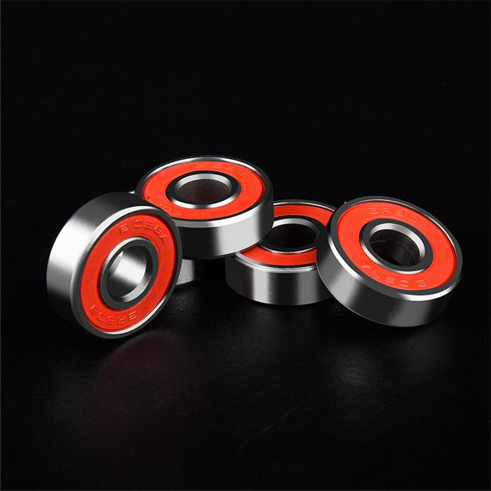 10Pcs Scooter No Noise Lubricated Skate Bearing Longboard Skate