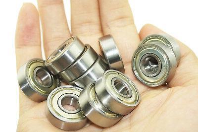 10x 608zz ball bearings for skateboard snowboard