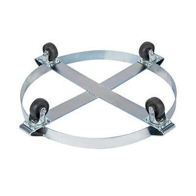 1x Duty Drum Dolly 1000 Pound 55 Casters Wheel
