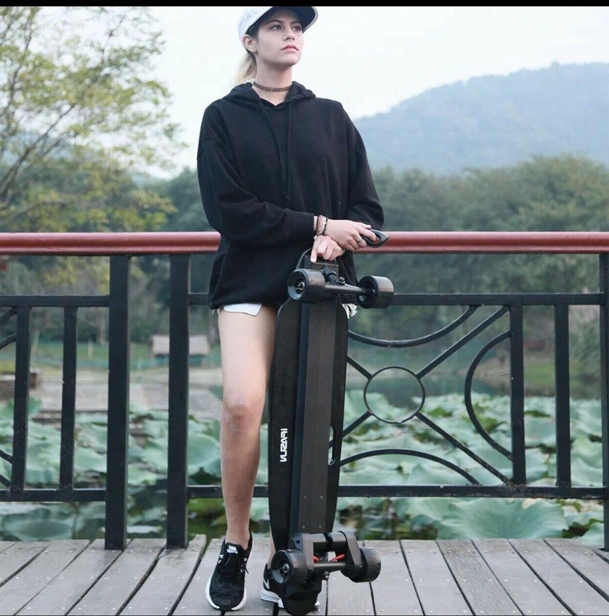 2019 New Belt Electric Skates Longboard