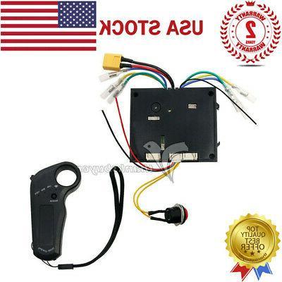 24 36v electric skateboard controller dual motors