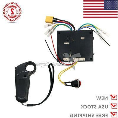 24-36V Electric Dual Motors+Remote Solid