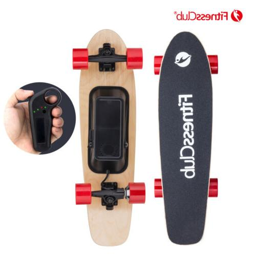 250w electric moterized skateboard longboard wireless remote
