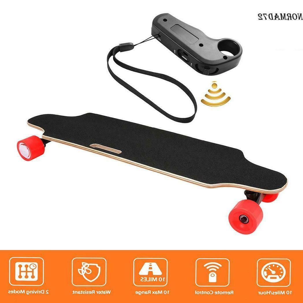 250w electric skateboard longboard wireless remote control